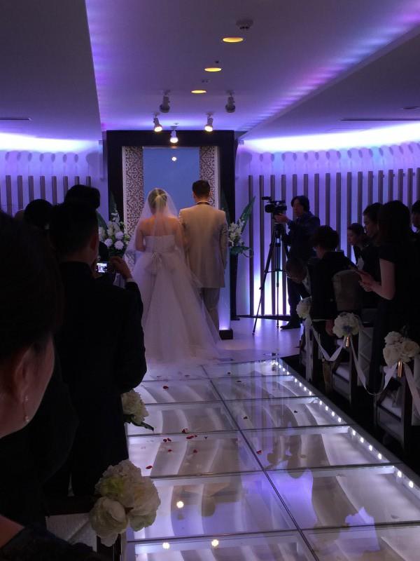 感動の結婚式