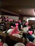 二夜開催バレンタインパーティー合計150名以上ご来場